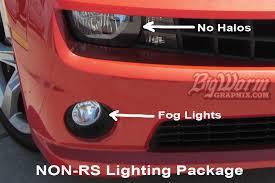 2010 13 camaro led fog light bulbs for non rs lighting