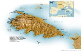 Corsica Map Corsica Map Jpg
