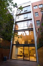 space4architecture upper east side townhouse with glass curtain loft design