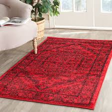 Black And Red Area Rugs by Rug Adr108f Adirondack Area Rugs By Safavieh