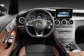 2017 mercedes benz c220d cabriolet cockpit motor trend