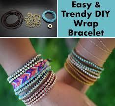 easy trendy diy wrap bracelet diy home things