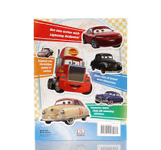 pixar fan cars 3 dk ultimate sticker book