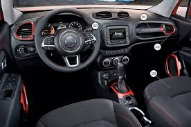 gray jeep renegade interior by design jeep renegade automobile magazine