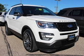 Ford Explorer All Black - white platinum 2016 ford explorer sport youtube