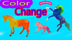 breyer color change horses diy stablemates mini whinnies paint