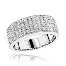 lively wedding band awesome men us black diamond ring ct tw roundcutwhite gold