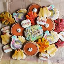 107 best thanksgiving fall cookie ideas images on