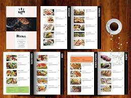 how to create food menu in photoshop youtube