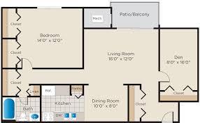 Den Floor Plan Floor Plans Bennington Crossings Alexandria Va Apartments