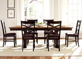 Dining Room Tables With Leaf by Colby Round To Oval Single Pedestal Dining Table With 18 Inch