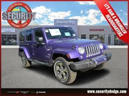 jeep wranglers for sale in ct used purple jeep wrangler for sale in bristol ct from 29 686 to