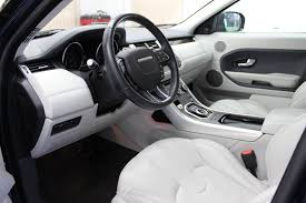 land rover evoque interior lakeside detail on site mobile detailing st joseph mi