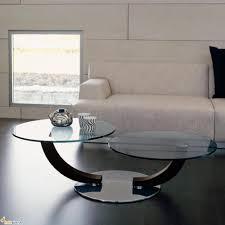 Dark Brown Laminate Flooring Round Modern Swivel Glass Cocktail Table And Dark Brown Wooden