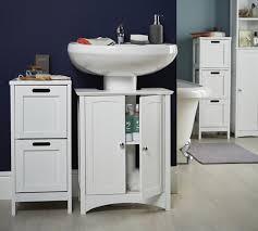 under bathroom sink storage shaker style bathroom under sink unit bathroom storage furniture