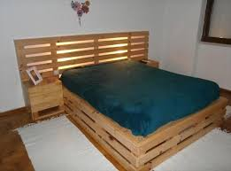 How To Build A Bed Frame And Headboard The Best 28 Pallet Bed Frame Designs Built Hgnv Diy