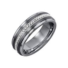 mens wedding band with diamonds mens tungsten wedding bands with diamonds tungsten wedding bands