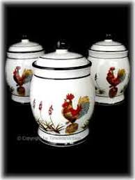 rooster kitchen canister sets kitchen canisters
