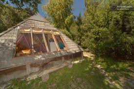 vacation in a tiny house tiny pyramid cabin in argentina you can vacation in simple