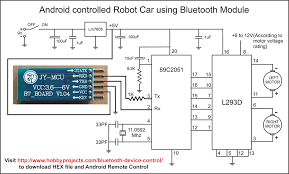 robot robo car tilt control android mobile bluetooth remote