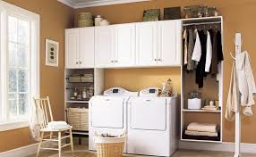 Laundry Room Shelves And Storage Laundry Room Cabinets Concrete Coatings Garage Cabinets