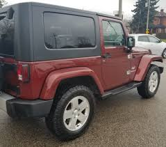 jeep sahara red 2010 jeep wrangler sahara hard top and soft top 2 yrs war 4x4