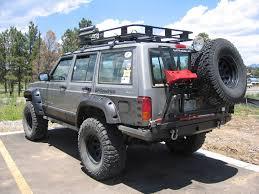 jeep xj bumper rear bumper w tire carrier archive naxja forums north