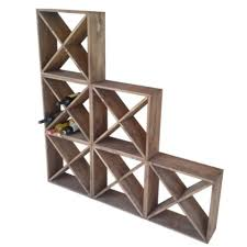 stackable cube wine rack racks a vin empilable