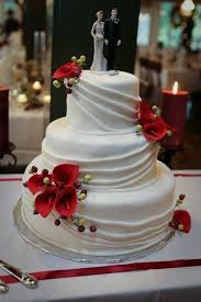 wedding cakes red calla lilies tamara u0027s cakes oshkosh