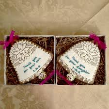 gingerbread wedding bell thank you for your daughter son 4 1 2