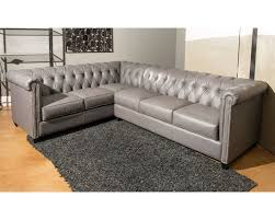tufted leather sectional furniture color tufted leather
