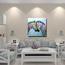 new style chinese zebra painting modern decor wall art living room