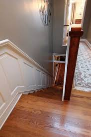 Wainscoting On Stairs Ideas Hold On Tight Staircase Wainscoting And Handrail Project House