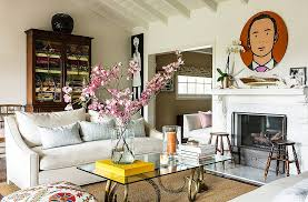 one kings lane home decor inside the exuberant and elegant l a home of lulu dk