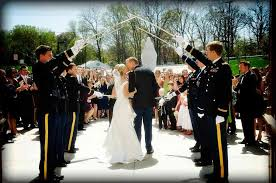 wedding arches coast weddings army navy air marines coast guard national guard