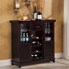 Espresso Bar Cabinet Tuscan Expandable Wine Bar In Espresso Wine Cabinet Kitchen