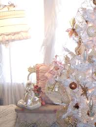 awesome white shabby chic christmas tree