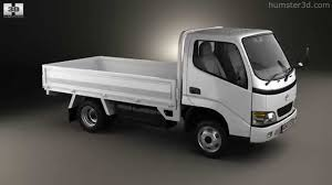 Toyota Toyoace Flatbed 2006 By 3d Model Store Humster3d Com Youtube