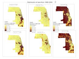 Cook County Map For Richer Of Poorer In Chicago