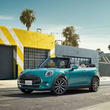 caribbean aqua metallic paint available exclusively on the mini