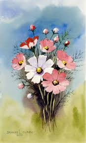 how to paint cosmos flowers free 2 hour live recorded class