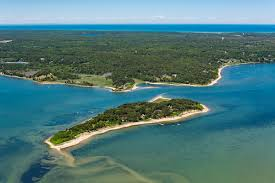 sipson island off the coast of orleans is for sale