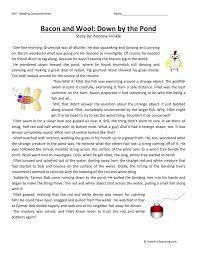 third grade reading comprehension worksheets have fun teaching