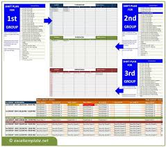 Time Tracking Spreadsheet Excel Free Employee Shift Schedule Generator Excel Templates