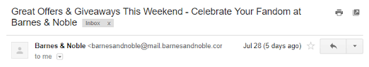 Barnes And Noble Starting Pay How To Rescue Your Dying Email Open Rates Before It U0027s Too Late