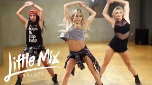 little mix salute dance tutorial love pinterest dancing
