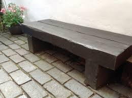 Very Garden Furniture Garden Bench Made From Railway Sleepers Total Cost About A Tenner