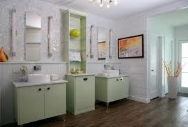 Yellow And Gray Bathrooms - 22 modern bathroom ideas blending green color into interior design