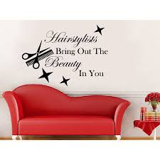 hairstylists bring out the beauty you wall decal quote hairstylists bring out the beauty you wall decal quote salon art sticker