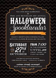 halloween party invitations best business template